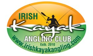 Irish kayak angling logo