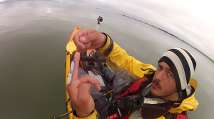 Bass bait rigged