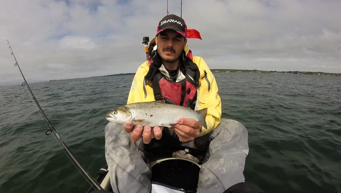 Holding Seatrout